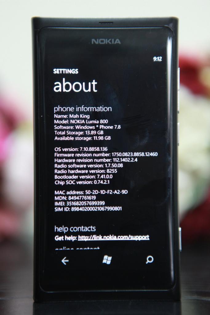 nokia lumia 800 not updating