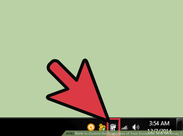 Hình 1 của Điều chỉnh độ sáng màn hình Windows 7 trên PC, laptop