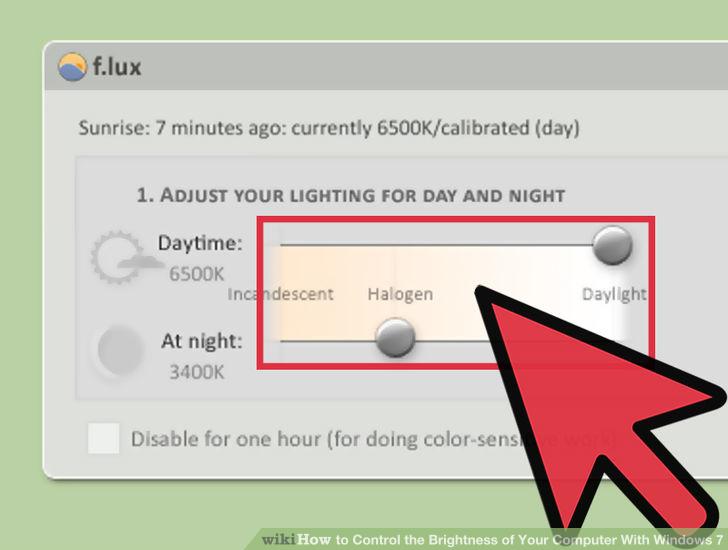 Hình 17 của Điều chỉnh độ sáng màn hình Windows 7 trên PC, laptop