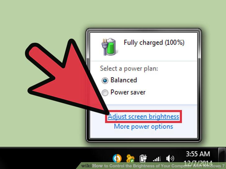 Hình 2 của Điều chỉnh độ sáng màn hình Windows 7 trên PC, laptop
