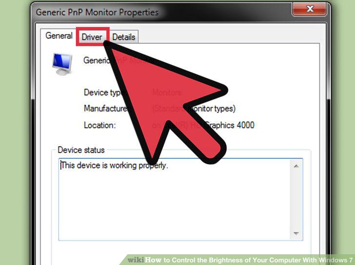Hình 7 của Điều chỉnh độ sáng màn hình Windows 7 trên PC, laptop