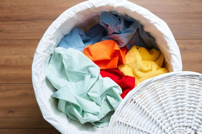 Clothing of people suspected of new corona virus Covid-19: Washing ...
