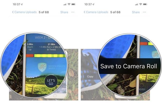 Dropbox download photos to ipad