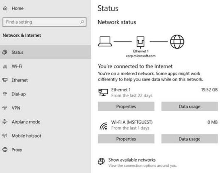 Cách Đặt Lại Mức Sử Dụng Dữ Liệu Mạng Trên Windows 10 - HUY AN PHÁT