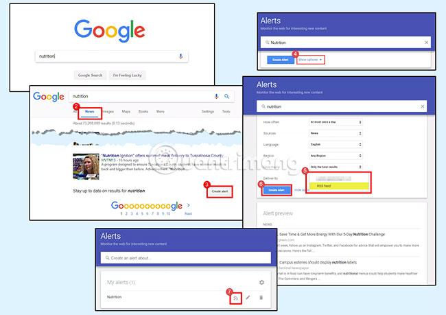 Googles Online Feed Reader Utility