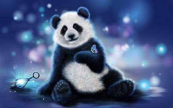 panda wallpaper set for computers
