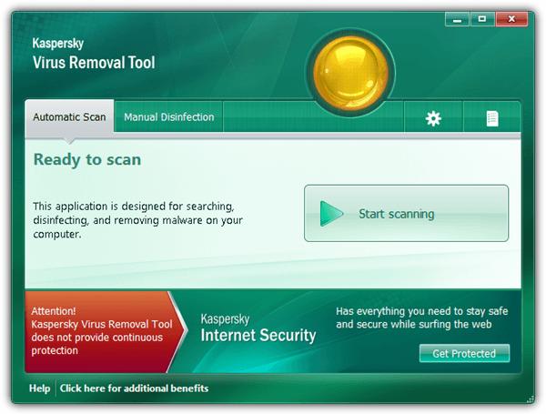 Kaspersky virus removal tool 11 build 2012. 02. 11 | software.