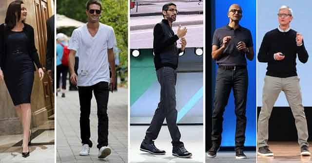 Gu Surprising Fashion Of Technology Billionaires