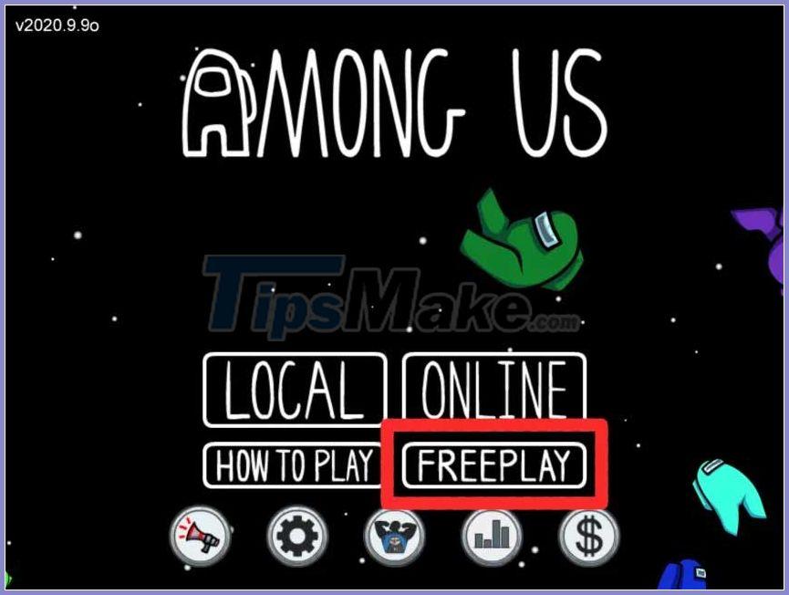 Freeplay In Among Us How To Play Freeplay On Among Us
