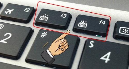 Hình 3 của Cách bật tắt đèn bàn phím laptop Dell, HP, Asus, Acer, Vaio, Lenovo, Macbook