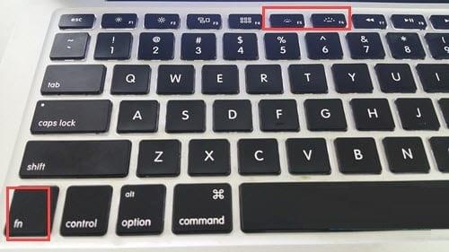 Hình 9 của Cách bật tắt đèn bàn phím laptop Dell, HP, Asus, Acer, Vaio, Lenovo, Macbook